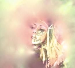 i am a cotton candy pink cloud